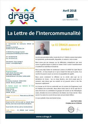 La lettre de l'intercommunalité